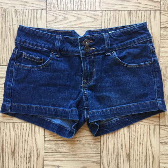 Mossimo Supply Co. Pants - Mossimo Supply Co. Size 3 Dark Wash Denim Shorts